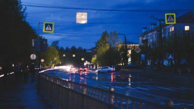 Nochnaya ulica Sverdlova rovno god nazad
