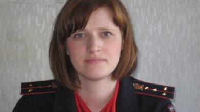 Inspektor po propagande bezopasnosti dorozhnogo dvizheniya Lyudmila Permyakova