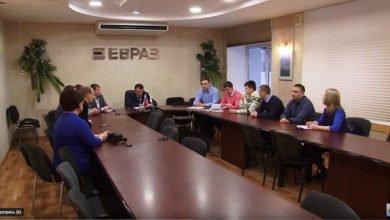 Vstrecha glavnogo inzhenera KGOKa A.Lyapunova s Sovetom molodyh specialistov