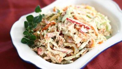 Bystryj salat s bolgarskim percem