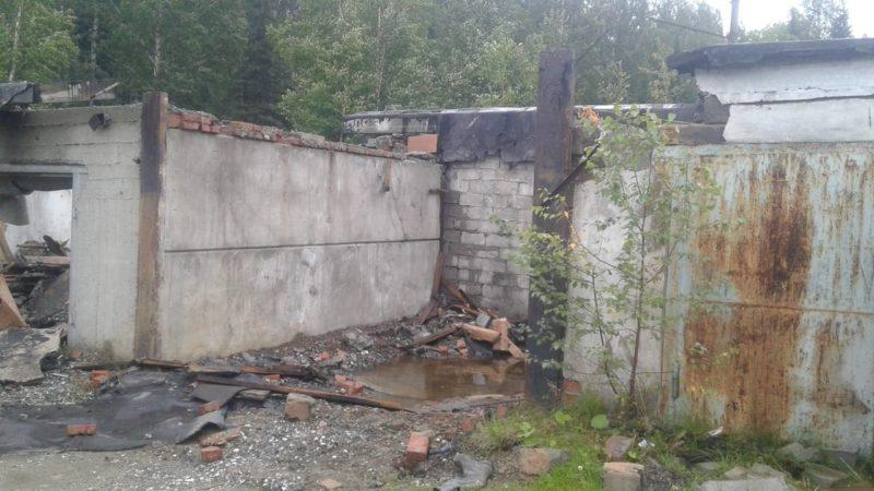 razrushennye garazhi